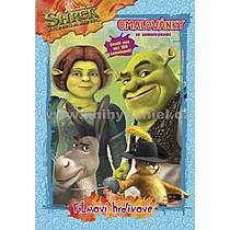 Shrek Zvonec a konec Omalovánky se samolepkami