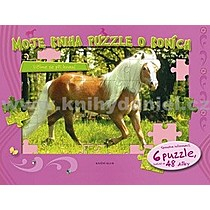 Moje kniha puzzle o koních