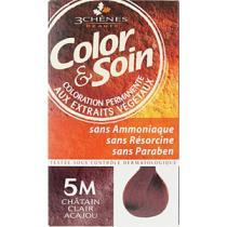 LES 3 CHENES Barva a Péče 5M - Světle mahagonová hnědá 135ml