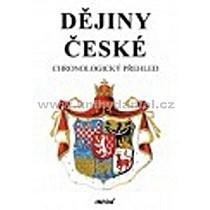 České dějiny chronologický přehled