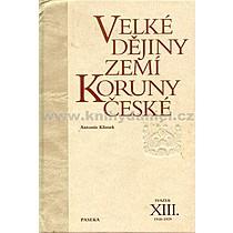 Antonín Klimek Velké děj zemí Koruny čes XIII