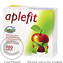 NATURELL AB Aplefit s jablečným octem tbl.100