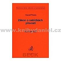 Bohumil Vlastimil Havel Pihera Zákon o nabídkách převzetí Komentář