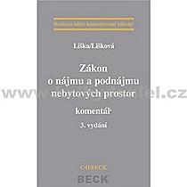 Petr Věra Liška Lišková Zákon o nájmu a podnájmu nebytových prostor komentář 3 vydání