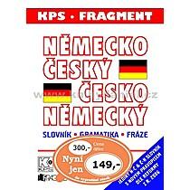 Německo český česko německý slovník gramatika fráze (velký plast)