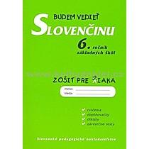 Tatiana Kelemenová Budem vedieť slovenčinu 6 ročník základných škôl