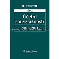 Účetní souvztažnosti 2010 2011