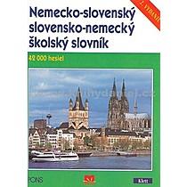 Nemecko slovenský slovensko nemecký školský slovník