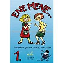 Kolektiv autorů Ene mene 1 díl kniha pro učitele