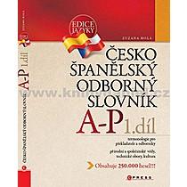 Zuzana Holá Česko španělský odborný slovník 1 díl
