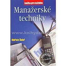 Oldřich Šuleř Manažerské techniky