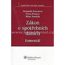 Bohumila Kotenová Zákon o spotřebních daních