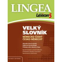 Kolektiv autorů Lexicon 5 Německý velký slovník