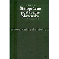 Milan Čič Štátoprávne postavenie Slovenska