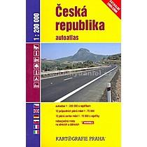 Josef Hebr Česká repubublika autoatlas
