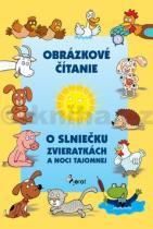 Obrázkové čítanie o slniečku, zvieratkách a noci tajomnej