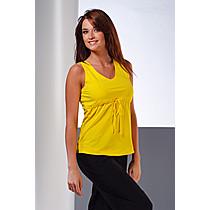 Mrs Fitness Estera Žlutý top