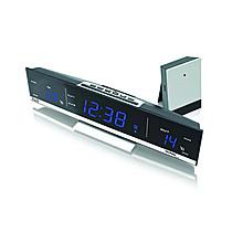 Japonsko WS 6810 Hodiny s bezkabelovým měřením venkovní teploty Blue LED