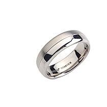 Mija Titanový Prsten leštěný