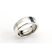 Mija Prsten Titanium Silver 925 0107