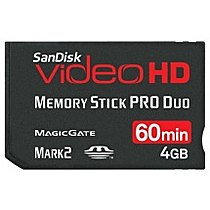 SanDisk MS PRO DUO Video HD 4GB