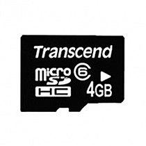 Transcend 4GB micro SDHC class 6