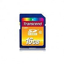 Transcend 16GB SDHC premium class 10