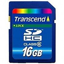 Transcend 16GB SDHC class 6