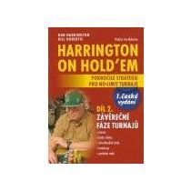 Poker kniha Harrington on Holdem druhý díl česky - volume 2