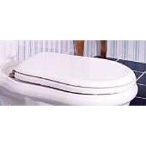 OEM WC sedátko, ořech/chrom Retro 109040