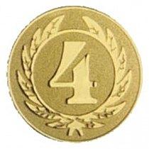 Emblém 4. místo