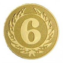 Emblém 6. místo