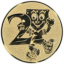Emblém 2. místo smail