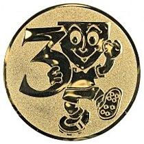 Emblém 3. místo smail