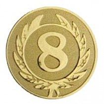 Emblém 8. místo