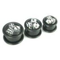 Plug akrylát hrací kostky