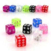 1,6 náhradní kulička UV hrací kostka PBBLOS036