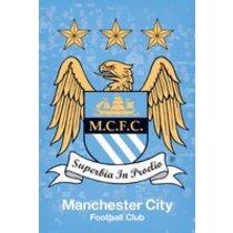 POSTERS MANCHESTER CITY crest plakát 61 x 91 cm