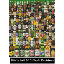 POSTERS BEER life is full ... plakát 61 x 91 cm