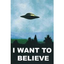 POSTERS X FILES i want to believe plakát 61 x 91 cm