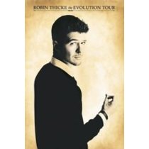 POSTERS ROBIN THICKE evolution tour plakát 61 x 91 cm