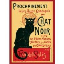 POSTERS LE CHAT NOIR steinlein plakáty
