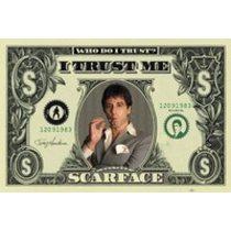 POSTERS SCARFACE dollar plakáty