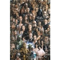 POSTERS STAR WARS characters plakát 61 x 91 cm