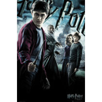 POSTERS HARRY POTTER 6 one sheet plakát 61 x 91 cm