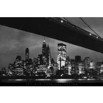 POSTERS NEW YORK bridge plakát 91 x 61 cm