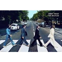 POSTERS BEATLES abbey road plakát 91 x 61 cm