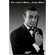 POSTERS JAMES BOND 007 the name is bond plakát 61 x 91 cm