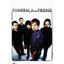 POSTERS FUNERAL FOR A FRIEND band plakát 61 x 91 cm