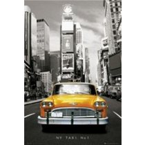 POSTERS NEW YORK taxi no.1 plakát 61 x 91 cm